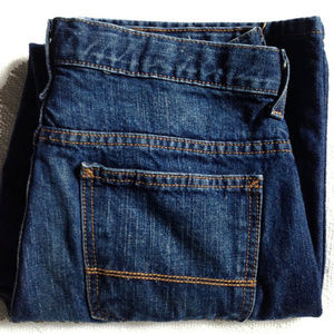 Arizona Relaxed Fit Blue Jeans | 14